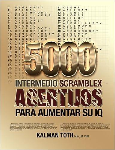 5000 Intermedio Scramblex Acertijos Para Aumentar Su IQ ...
