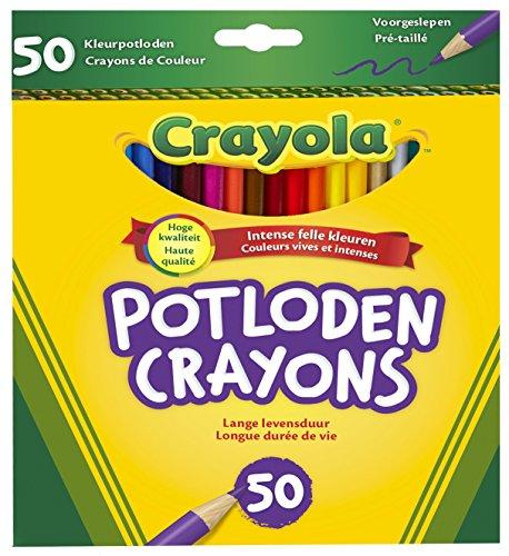 Детское творчество Crayola 50ct Long Colored