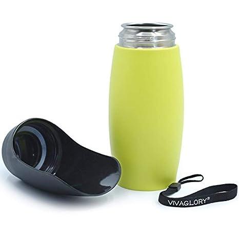 Fina Lo Botella de Agua para Perros 750 ml de Acero ...