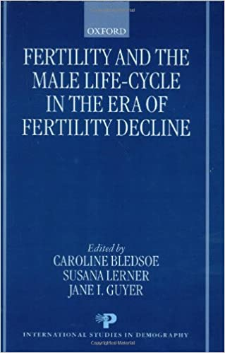 Livres audio gratuits à télécharger sur ipod Fertility and the Male Life-Cycle in the Era of Fertility Decline (International Studies in Demography) (French Edition) FB2 0198294441