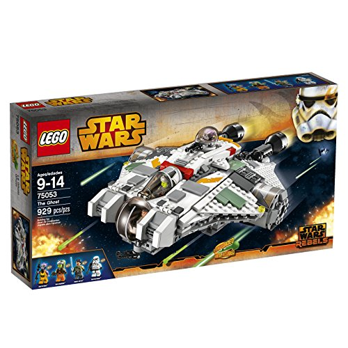 LEGO Star Wars 75053 The Ghost Building Toy (Discontinued by manufacturer) (Lego Star Wars Double Sets)