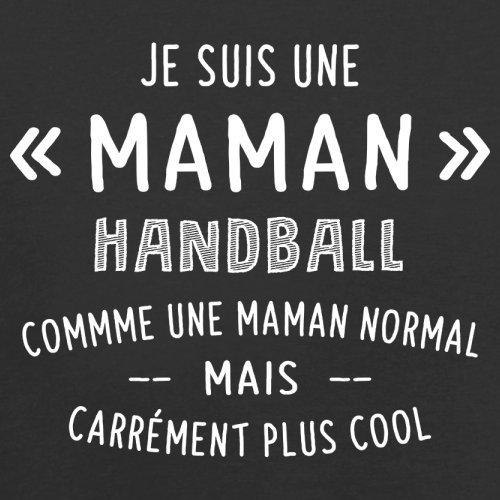 une maman normal handball - Femme T-Shirt - Noir - L