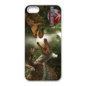 Jurassic Park iPhone 5 5s Cell Phone Case White CVXEYERTE17974 Plastic Back Phone Case