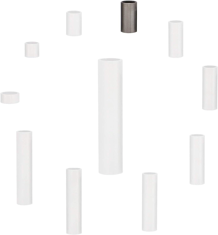 FASTON Lot de 4 manchons d/écartement en acier inoxydable A2 M7//M8 /Ø int/érieur 8 mm