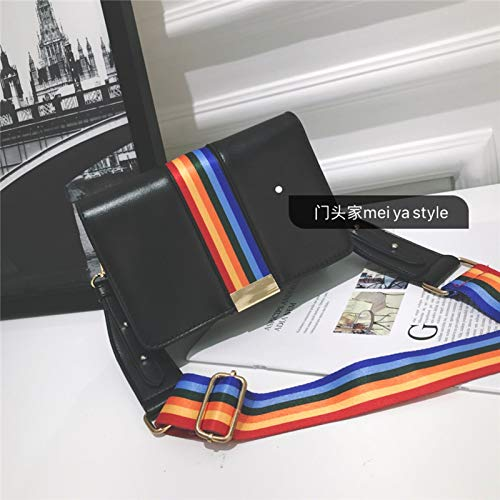 Gelatina Cuadrada Bolso Láser Bolsa Costura De Tendencia Color Contraste Paquete Impresión Carta Lentejuela Transparente Mujer Pequeña Retro H8xfqw8X