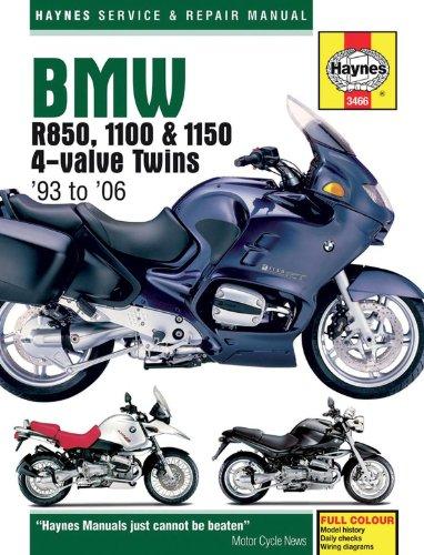 Haynes BMW R850/1100-1150 Manual M3466