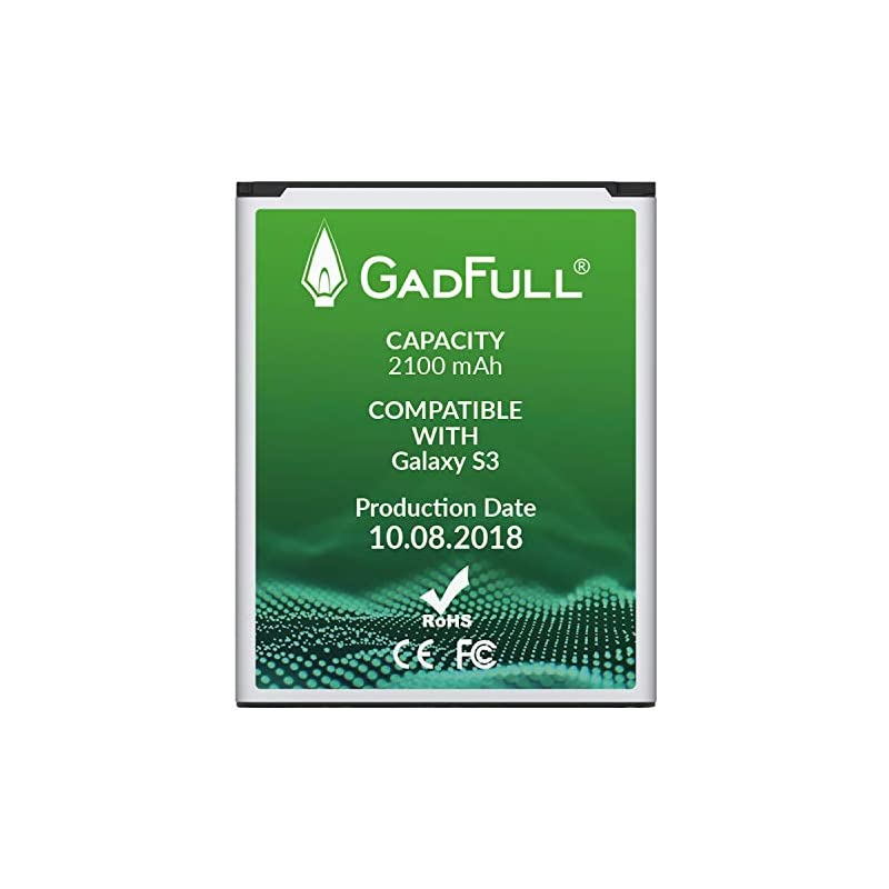GadFull Battery for Samsung Galaxy S3 |