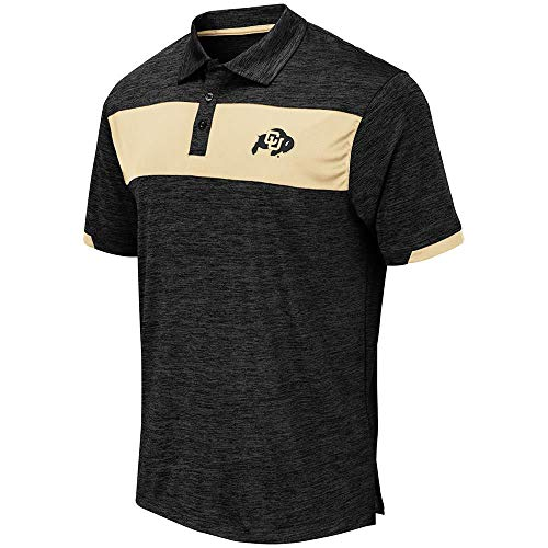 (Mens Colorado Buffaloes Nelson Polo Shirt - XL)