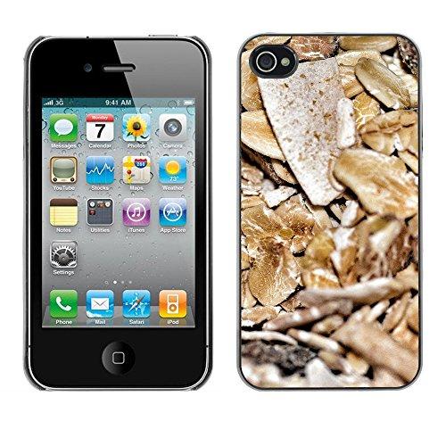 Premio Sottile Slim Cassa Custodia Case Cover Shell // F00006612 céréale // Apple iPhone 4 4S 4G