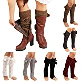 #5: Socks Women, Liraly Winter Warm Knitted Socks Leg Warmers Boot Crochet Long