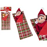 PMS 4.7/8 W x12(L) PATTERNED ELF SLEEPING BAG W/PILLOW W/H-