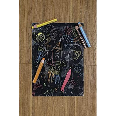 Multi-talented Pencil STABILO woody 3-in-1 box of 5 black : Office Products