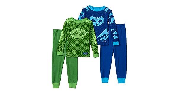 494c1b90e448 PJ Masks Gekko   Catboy 4-pc. Pajama Set Toddler Boy (4T)  Amazon.ca ...