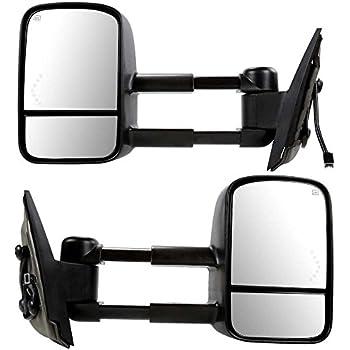 Set Pair of New Mirror Heated Side Mirrors w/Signal Light Prime Choice Auto Parts KAPFO1320268SSPR