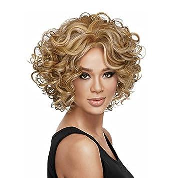 Curl Haned Kurze Haare Synthetischen Perücken Für Schwarze Frauen  Europäische Und Amerikanische Kurzes Haar Gilt: