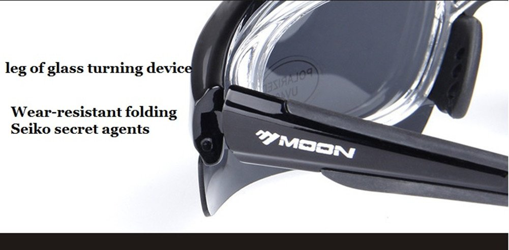 42040068c5 Lorsoul Polarized Sports Sunglasses with 5 Interchangeable Lenses ...