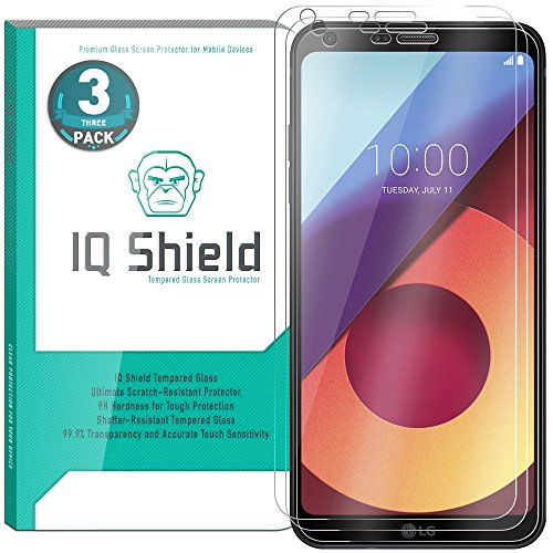 LG Q6 Screen Protector (3-Pack), IQ Shield...