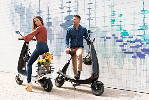 OjO Commuter Scooter for Adults – Eco-friendly, Electric & Smart – Graphite