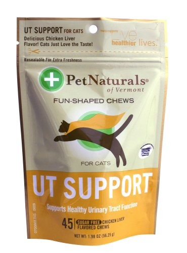 Pet Naturals UT Support for Cats (45 count), My Pet Supplies