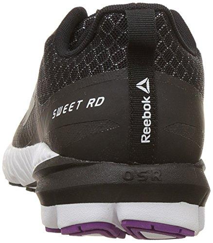 Sweet White Rd Mujer de Black Running Zapatillas OSR Ash Violet Se Vicious para Reebok Negro Grey 5qxWnOF81