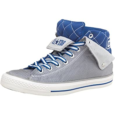 Converse Mens CT All Star Padded Collar Peel Back Mid Grey