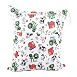 Funny Chicken Wet Bags Waterproof Diaper Bag Multi-function Nappy Bag-14''11''