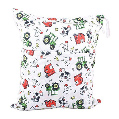Funny Chicken Wet Bags Waterproof Diaper Bag Multi-function Nappy Bag-14''11'' by Panda Superstore