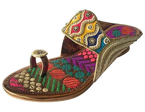 Step n Style - Sandalias de vestir de Material Sintético para mujer Multicolor multicolor Multicolor