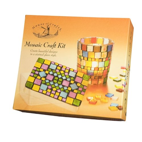 House of Crafts Mosaic Craft Kit HC480