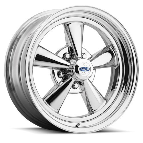 Cragar 61C S/S 15×8 5×4.75″ -6mm Chrome Wheel Rim