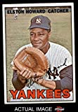 1967 Topps # 25 Elston Howard New York Yankees (Baseball Card) Dean's Cards 1.5 - FAIR Yankees