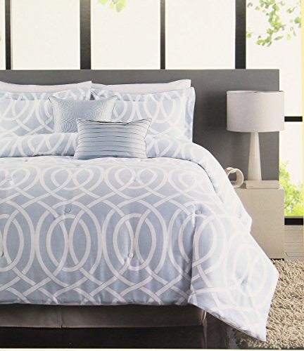 Raymond Waites Bridgeport 5-Piece Comforter Ensemble, King (Ensemble Piece 5 Comforter King)