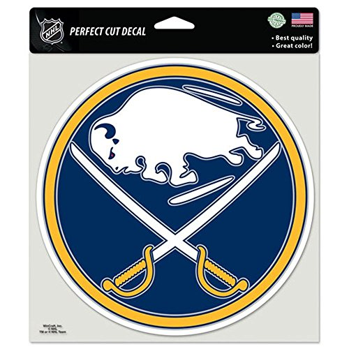 Collection Vinyl Uptown - Wincraft NHL Buffalo Sabres Die-Cut Color Decal, 8