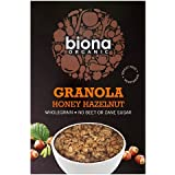 Biona Organic Honey Hazel Crunchy Granola 375g (Case of 6)