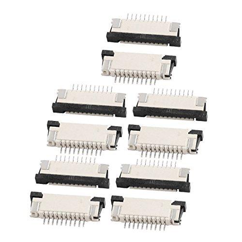 Amazon.com: eDealMax de puertos inferiores 10 Pines 1,0 mm Pitch FFC Cinta Fpc sockets Conector 10Pcs: Industrial & Scientific