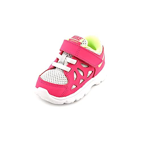 Nike Kids Fusion Run 2 (TDV) Baby Girls Shoes Pure Platinum Volt Ice Vivid  Pink  Buy Online at Low Prices in India - Amazon.in 73a0e218a