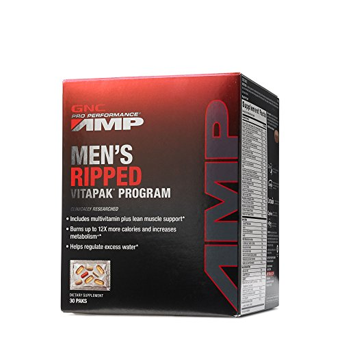 GNC Pro Performance AMP Men's Ripped Vitapak