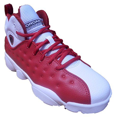 Jordan Jumpman Team II Gym Red/Gym Red-White-Black (Grade School) (6Y) by Jordan