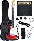 Redburst Electric Guitar + 15w AMP + Strap + Cord + Gigbag NEW