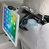 ikross Durable 180 Degree Rotation Car Mount Tablet Backseat Headrest Mount Holder for 7 ~ 10.2 inch Tablets PC