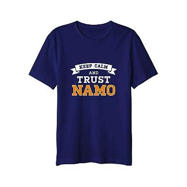 2fa88b3b NaMo Merchandise Keep Calm and Trust Namo Round Neck T-Shirt - XS Size