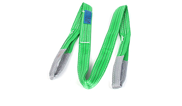 Aexit Light Purple Chain /& Rope Fittings Polyester Eye to Eye Webbing Lifting Tow Strap 1 Wire Rope Clips Ton 2M
