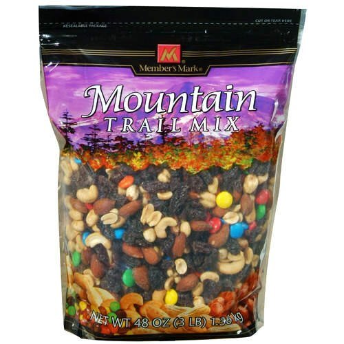 Amazoncom Members Mark Mountain Trail Mix 48 Oz Bag Grocery