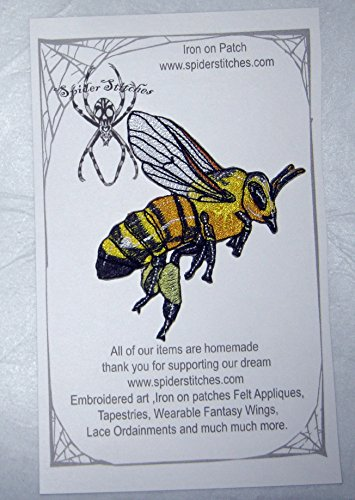 Epic Honey Bee Worker Apis Mellifera Iron on Patch (Best Homemade Halloween Costumes)