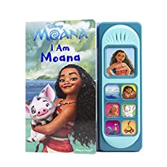 All her life, Moana of Motunui has heard the legends of a voyager who will sail far beyond her island home. What will her legend be? Join Moana on her daring adventure beyond her reef and sailing into the high-seas in I Am Moana, a sound book...