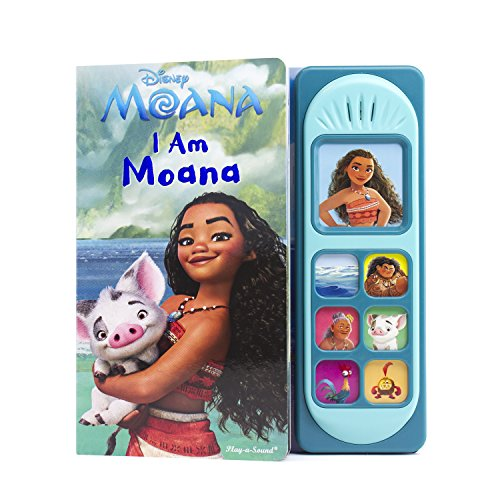 Disney Moana - I Am Moana Little Sound Book - PI Kids (Disney Moana: Play-A-Sound) (Barbie Boy Dolls Disney)
