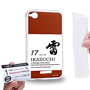 Case88 [HTC Desire 320] Gel TPU Carcasa/Funda & Tarjeta de garantía - Art Fashion Design 17 years old Ikazuchi 17 Kancolle Art4039