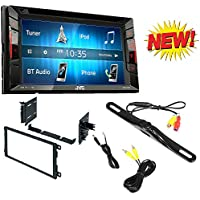 Double Din Bt In-dash Dvd/cd/am/fm Car Stereo W/ 6.2 Touchscreen W/ Metra Double DIN Installation Multi-Kit for Select 90-up GM/Honda/Isuzu/Suzuki Vehicles 90-up