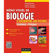 Mémo visuel de biologie - 3e éd. : L'essentiel en fiches (Biologie végétale t. 1) (French Edition)