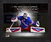 Henrik Lundqvist New York Rangers Pro Quotes Framed 8x10 Photo